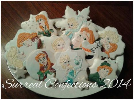 Frozen Cookie Set by Afina79