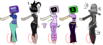 Aesthetic TV head adopts + One extra (CLOSED) by Emptyproxy