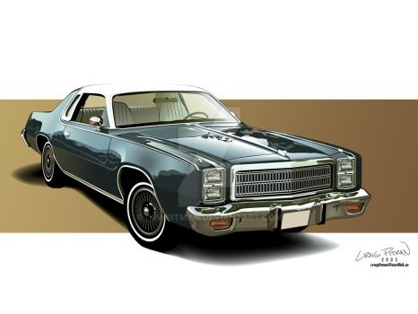1977 Plymouth Fury Wallpaper by CRWPitman