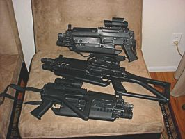 Trenches blasters by Matsucorp