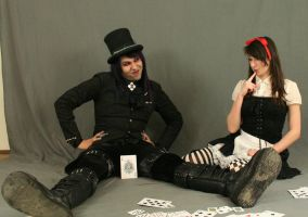 Dark alice and Mad hatter 26 by MajesticStock