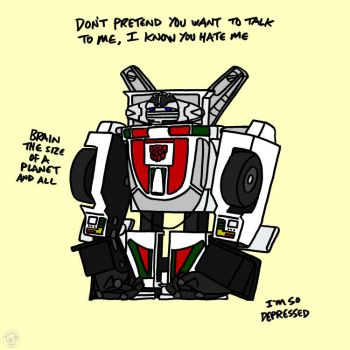 Nobody Likes You Wheeljack by EscoZG