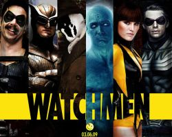 watchmen. by hcklbrry