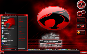 Thundercats Windows 7 Theme by pauliewog260