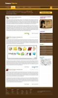 Blog Template by Laurie-J