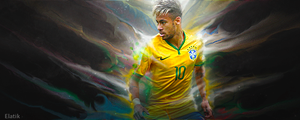 Neymar da silva sign by elatik-p