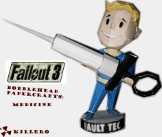 Fallout 3 Medicine Bobblehead by killero94