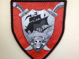 Pirate Coat of Arms by NoahBDesign