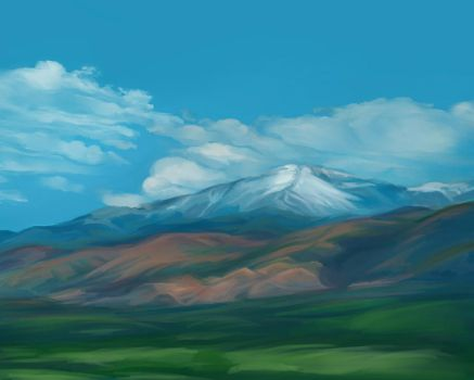 Study: Pike's Peak by kcimaginary