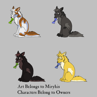 Adoptable Batch 5 by miryhis