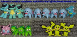 Ceramic Pokemon 4 AnimeBoston by HeyLookASign