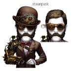 free deck poker-male steampunk by kokecit