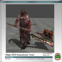 Majini RE5 Executioner Town by Adngel