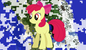 Applebloom Minecraft by TheUnknown644