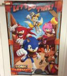 Sonic Boom Poster by Camo221999