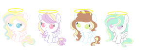 Adoptables foals CLOSED by SugarMoonPonyArtist