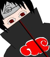 MS Paint Itachi, I think by Acid-Rain0929