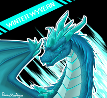 Dota 2 - Winter Wyvern by DarkenStarDragon