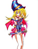Dark Magician Girl color by 1nicorobin