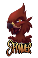 Spanner Badge by R-Spanner