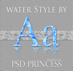 Photoshop Water Style by Psd-Princess