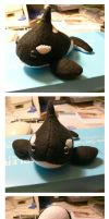 Orca Soft Toy-Fat Willy by art4oceans