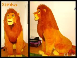 The Lion King ~5ft  Douglas Simba Plush by OliveTree2