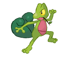 Treecko by puffley115