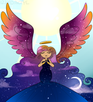 Day-Night Angel by Izzydactyl