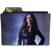 dark angel folder icon by Kliesen
