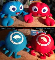 Otakon Crabby Plush by invader-gir