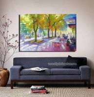 Hand-painted Landscape Oil Painting - Pastime by Susandelfinos