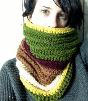 Doctor Who Cowl - The Fourth Doctor by Weeaboo-Warehouse