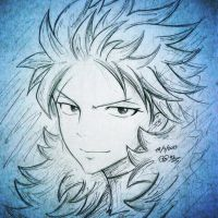 Sting from Fairy Tail by ShelindaArt