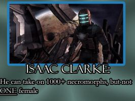 Isaac Clarke lol by DarthzeroProductions