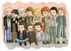 The Eleven Doctors by ParallelPenguins