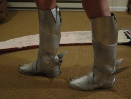 Side shot of the boots by CrazyRevy