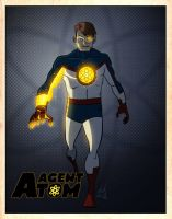 Agent Atom by Dbed by LegacyHeroComics