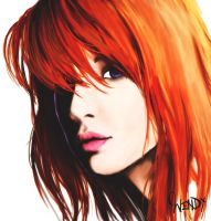Hayley Williams by BlackRoseXOX