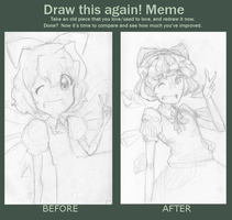 Draw This Again: Cirno! by shmu-h