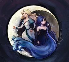 Odette And Odile by relsgrotto