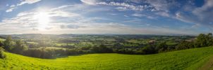 Wales from the Highlands by binarymind