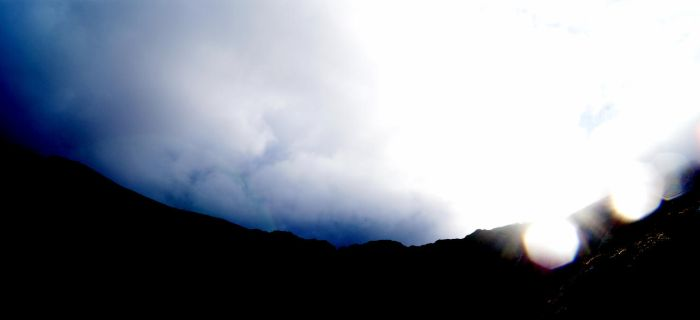 Tryfan Silhouette by Paranormal-Hyperbola