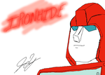 Photoshop Practice - Ironhide by TaintedTamer