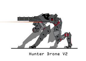 Drone V.2 by The-Red-Right-Hand