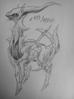 Realistic Arceus by Dragontamer333