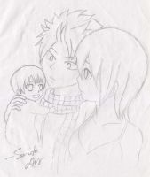 NaLi with BaBy-By Sumita by enchantic-erza