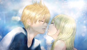 Kiss me NOW, Roxas! (Roxas and Namine) by Avidityy
