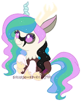 Request shipping foal for KIITH-WOLF by SugarMoonPonyArtist