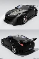 Retouched 350Z Dark Mod by Lorddarthvik